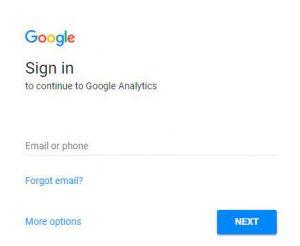Log-in-Google-Analytics